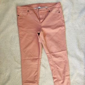 Maurices Pink Jeggings